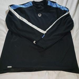 Nike Basketball warm up dri fit long sleeve shirt